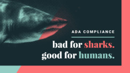 ADA Compliance: bad for sharks, good for humans