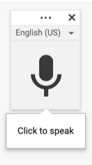microphone icon from google docs
